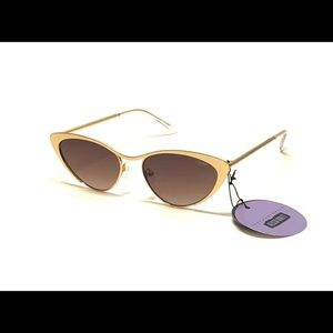 Quay Gold Alissa Violet Boss sunglasses